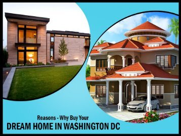 Real Estate in Washington DC - Buy Your Dream Home