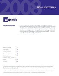 retail whitepaper - Aimetis