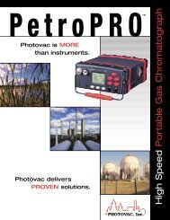 High Speed Portable Gas Chromatograph - Equipco