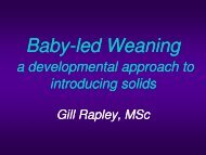 baby-led' weaning? - Borstvoeding.com