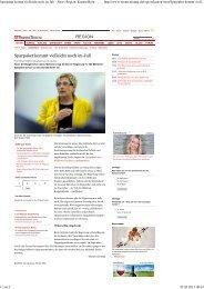 Sparpaket kommt vielleicht noch im Juli - News Region ... - BSPV