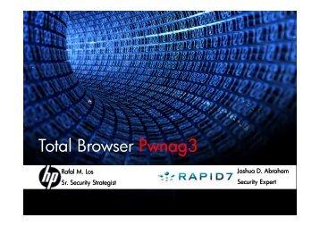 Total Browser Pwnag3 - spl0it.org