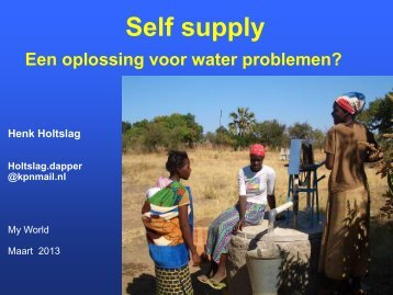Self supply - Aqua for All