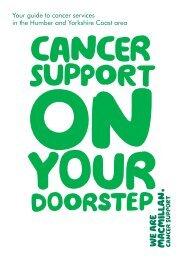 Humber and Yorkshire Coast - Macmillan Cancer
