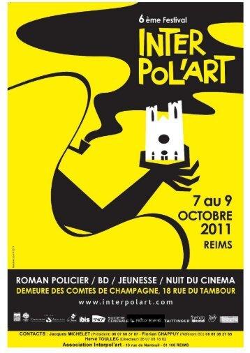 librairies partenaires - Festival Interpol'Art de Reims