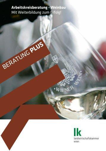 LK Beratung Arbeitskreis Weinbau - Landwirtschaftskammer Wien