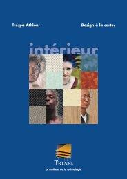Trespa Athlon brochure et couleurs - Inter systems