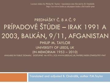 Propaganda, PSYOP and Public Diplomacy - branoondrasik.sk