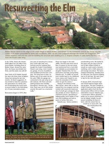 Resurrecting the Elm - Forestry Journal