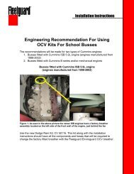 Engineering Recommendation For Using OCV Kits For School Busses