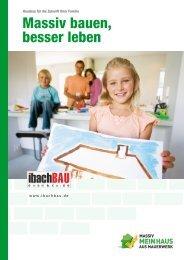 Ibach Bau - Massiv bauen, besser leben