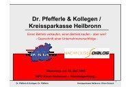 Dr. Pfefferle & Kollegen / Kreissparkasse Heilbronn