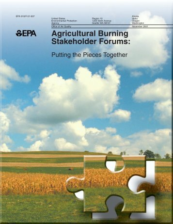 Agricultural Burning Stakeholder Forums - Environmental Protection ...