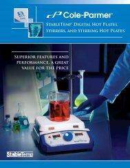 StableTemp Digital Hot Plates, Stirrers, and Stirring ... - Cole-Parmer