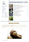 Rundbrief Elim Aktuell Dezember 2013 als PDF ansehen ... - Page 2