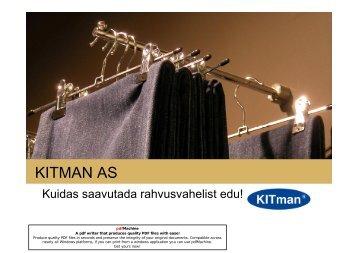 KITMAN AS