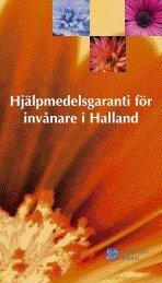 Hjälpmedelsgaranti för invånare i Halland - Region Halland