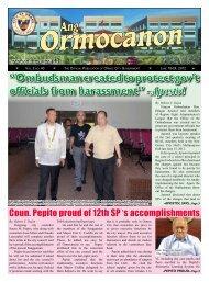 Apostol - City Government of Ormoc