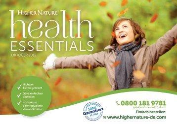 Katalog downloaden - Higher Nature