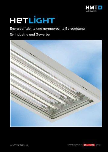 Produktinformation HETLIGHT - HMT Lichttechnik