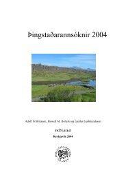 FS275 Þingskyrsla2004 - Nabo