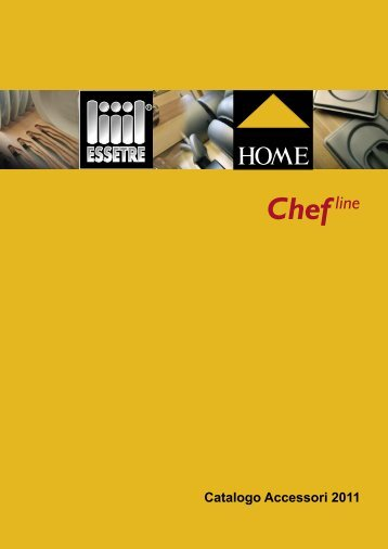 Scarica il catalogo PDF completo (pdf - 4.400 Kb - Home S.r.l.