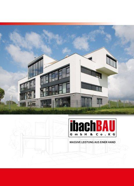 Ibach Bau - Unternehmensbroschüre