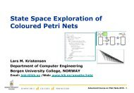 State Space Exploration of Coloured Petri Nets