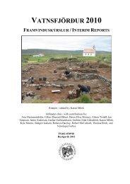 VSF 2010 Report - Nabo