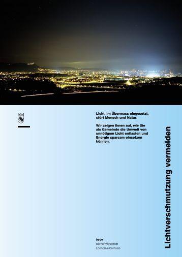 Lichtverschmutzung vermeiden