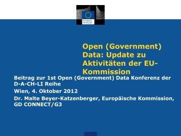 Kommission - OGD D-A-CH-LI Konferenz