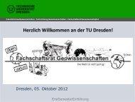 Präsentation - phpweb.tu-dresden.de