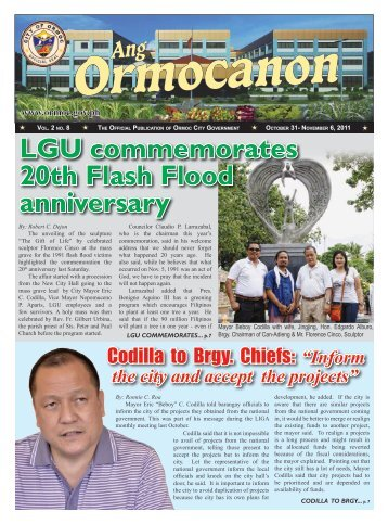 Ang Ormocanon - Vol 2 - Issue 8.indd - City Government of Ormoc