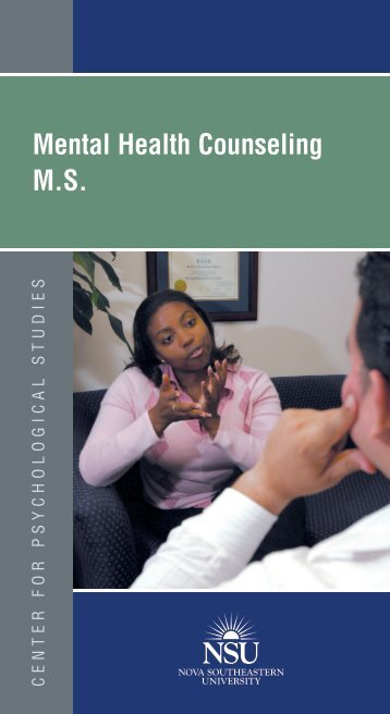 Brochure - Center for Psychological Studies - Nova Southeastern ...