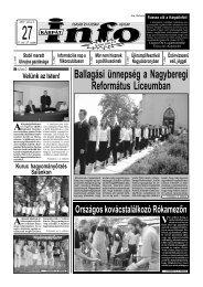 Ballagási ünnepség a Nagyberegi Református ... - Kárpátinfo.net
