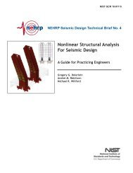 Nonlinear Structural Analysis For Seismic Design - ATC