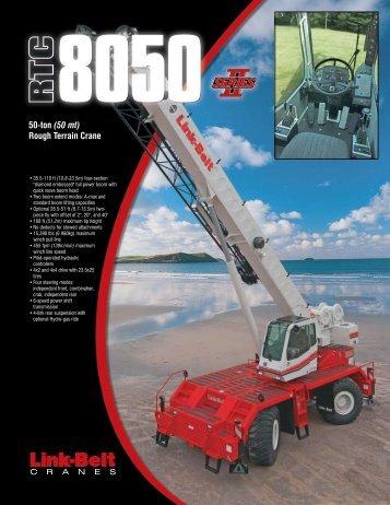 50-ton (50 mt) Rough Terrain Crane