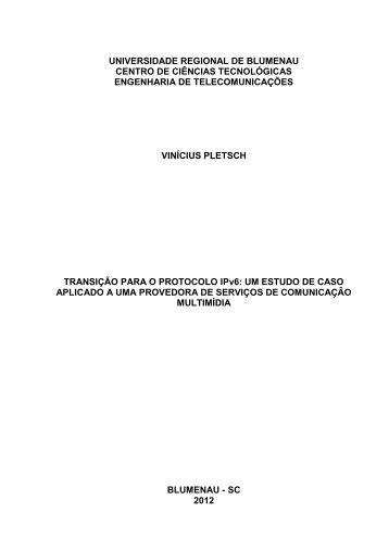 Transição para o Protocolo IPv6 - Departamento de Sistemas e ...