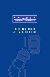 Steve-Watrel-Non-Injury-Auto-Accident-Guide