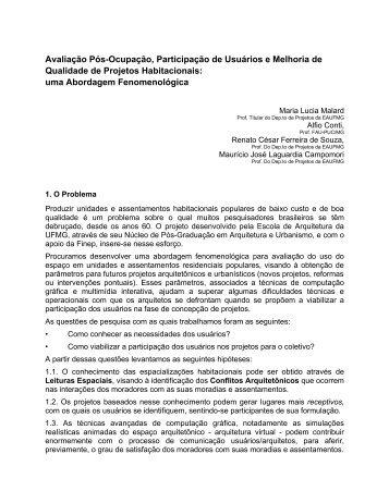 download texto completo - Escola de Arquitetura - UFMG