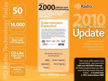 HD Radio Technology Update - iBiquity Digital