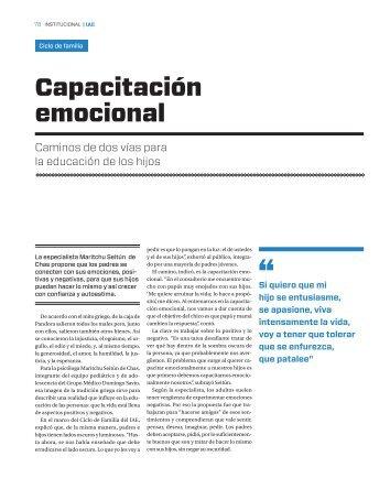 Capacitación emocional