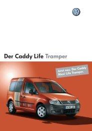 Der Caddy Life Tramper - Autohaus Perski oHG