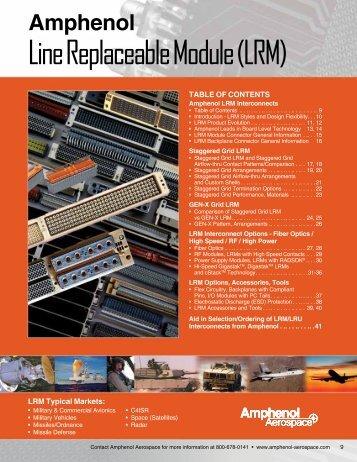 Line Replaceable Module (LRM) - Amphenol Aerospace