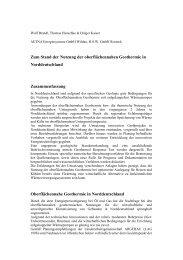 7. Geothermische Fachtagung Landau - Geothermal Response Test