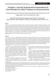 Clonagem e expressão da glicoproteína ... - Ctcusp.org