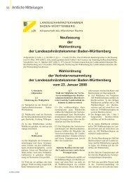 Download (PDF - 3.1 MByte) - Zahnärzteblatt Baden-Württemberg