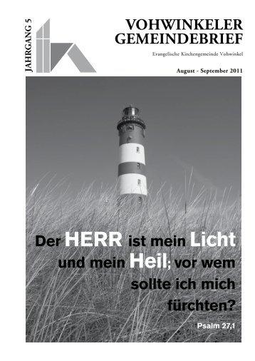 Vohwinkel tel. 0202/2 78 78 0 fax 0202/2 78 78 78 - Evangelische ...