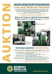 Meyer & Teubner Metall-Technologie Hagener Straße 78