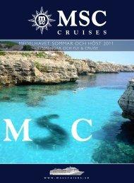 MEDELHAVET SOMMAR OCH HÖST 2011 - Cruise Market